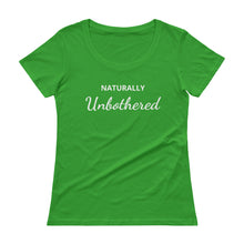 Load image into Gallery viewer, Unbothered Scoopneck Tee