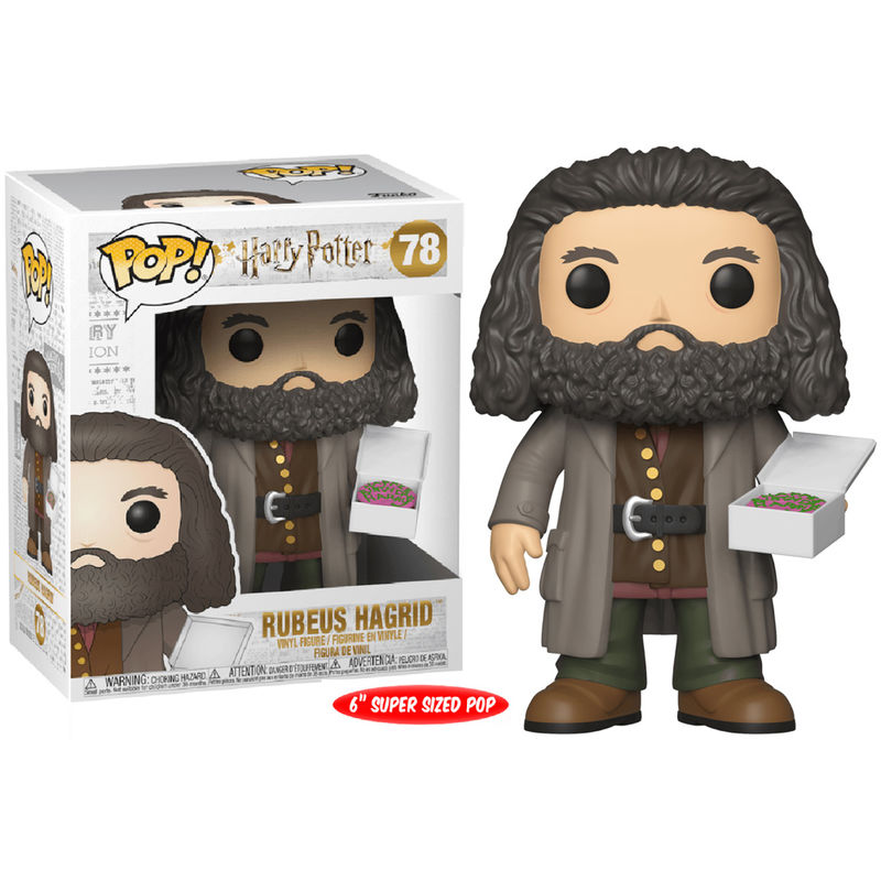 Harry Potter Hagrid with cake 15cm