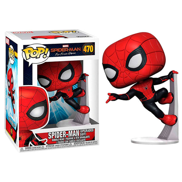 Marvel Spiderman Far From Home Spiderman Upgraded Suit