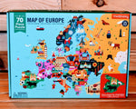 Map of the Europe 70 Piece