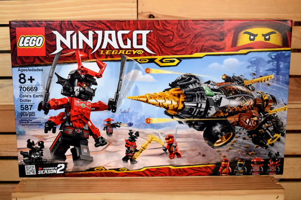 LEGO Ninjago Cole's Earth Driller