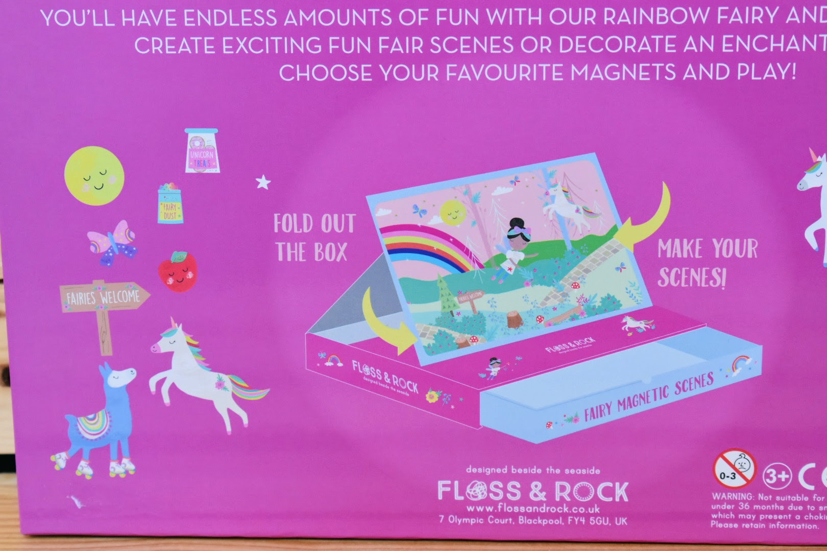 Floss and Rock Make Your Own Fairy Magnetic Scenes
