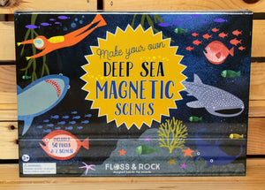 Floss and Rock Make Your Own Deep Sea Magnetic Scenes