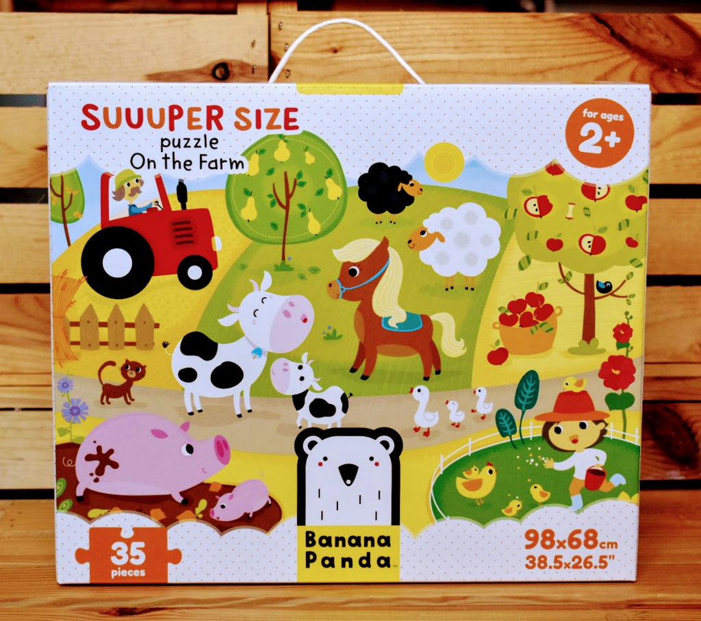 Banana Panda Suuuper Size Puzzle On the Farm
