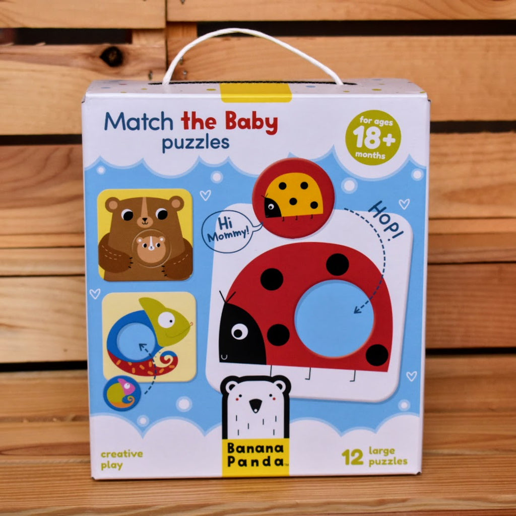 Banana Panda Match the Baby Puzzles