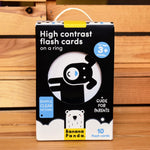 Banana Panda High Contrast Flash Cards 3+ Months