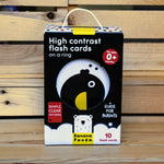 Banana Panda High Contrast Flash Cards