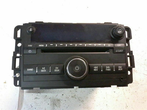 Audio Equipment Radio Am-fm-cd player-MP3 Opt US8 Fits 06 IMPALA 244680