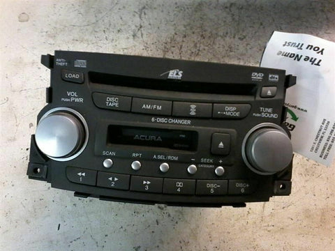 Audio Equipment Radio Am-fm-cassette-cd And DVD6 US Market Fits 04-06 TL 257576