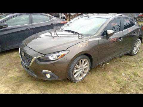 Trunk/Hatch/Tailgate Hatchback With Rear View Camera Fits 14 MAZDA 3 399556