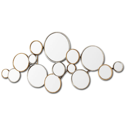 Mercana 37208 Halenday Mirror, Gold, 20x2.75x45 - The Modern Farmhouse