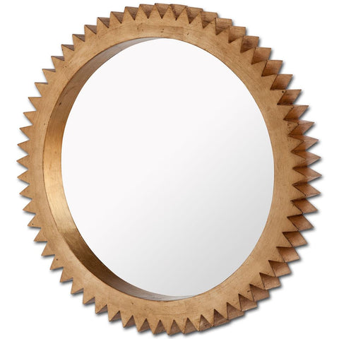 Mercana 37214 Alacion III (Large) Mirror, Gold, 35x35x3.5 - The Modern Farmhouse