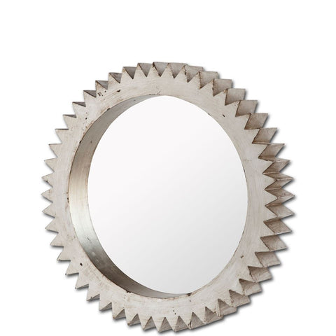 Mercana 37215 Alacion I (Medium) Mirror, Silver, 26x3.5x26 - The Modern Farmhouse