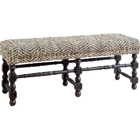 Mercana 50256 Granton Bench,Brown, 21x52x18 - The Modern Farmhouse