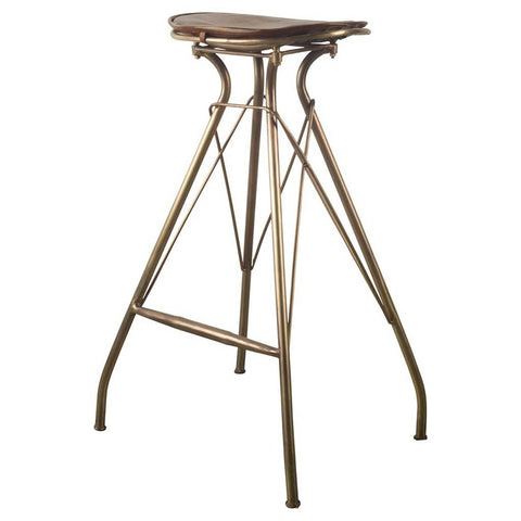 Mercana 50485 Orville II Bar Stool, Black - The Modern Farmhouse