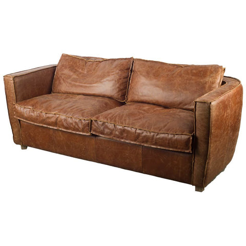 Mercana 50517 Nolan I Sofa, Brown - The Modern Farmhouse