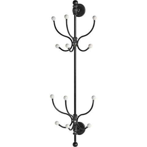 Mercana 57543 Laciniata Coat Rack, Black, 42.5x10x14 - The Modern Farmhouse