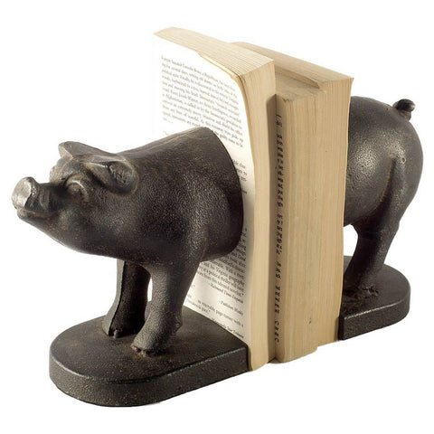 Mercana 57909 Wilber I (Set of 2) Book Ends, Black, 6x3.5x8.5 - The Modern Farmhouse