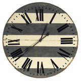 Mercana 63175 Belton II Wall Clock, Blue, 41.75x3x41.75 - The Modern Farmhouse