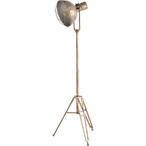 Mercana 65185 Carica Floor Lamp, Brass, 15.0L x 15.0W x 78.0H