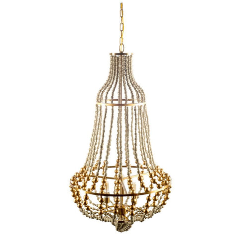 Mercana 65439 Lafontaine Chandelier, White