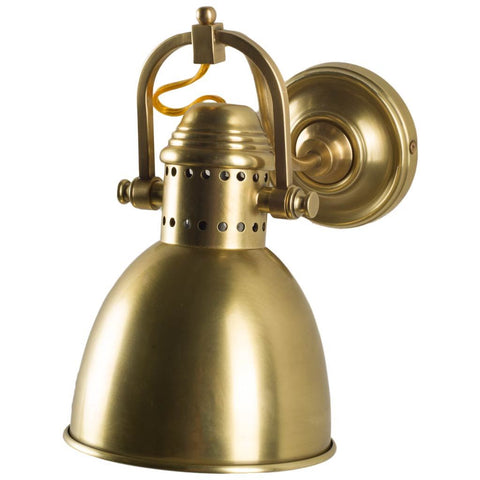 Mercana 65452 Mayford Wall Sconce, Brass, 11x8.5x6.5