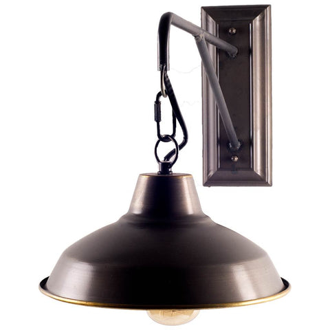 Mercana 65458 Morgan Wall Sconce, Black, 14.5x11x28