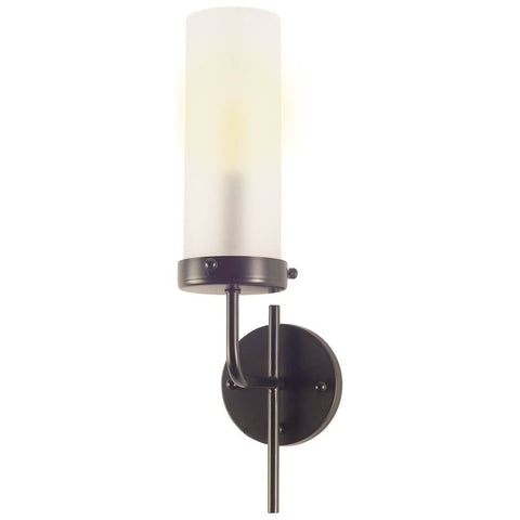 Mercana 67135 Bougeoir I Wall Sconce, Black, 20x8x4