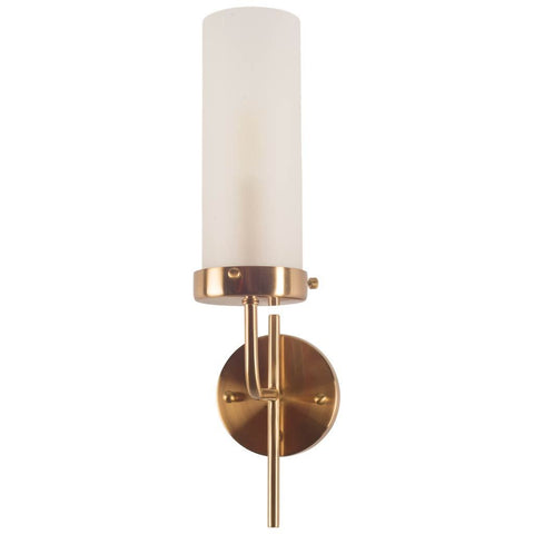 Mercana 67136 Bougeoir II Wall Sconce, Brass, 20x8x4