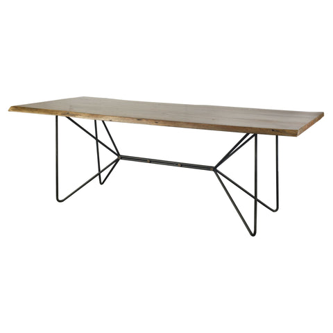 Mercana 67623-AB Papillion II (Box A&B) Dining Table, Brown