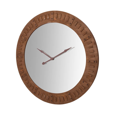 Mercana 67729 Rovos Wall Clock, Brown