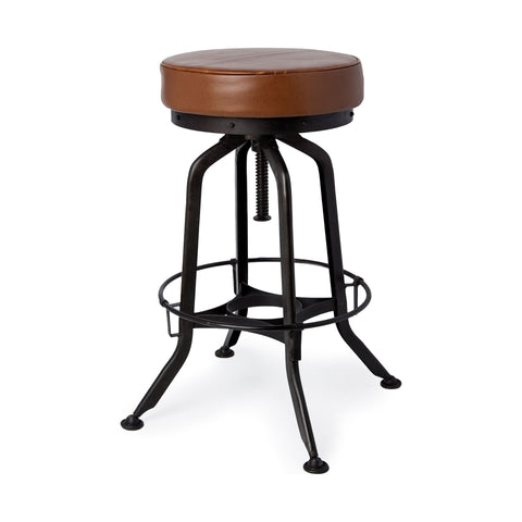 Mercana 50481 Oxford I Bar Stool, Black - The Modern Farmhouse