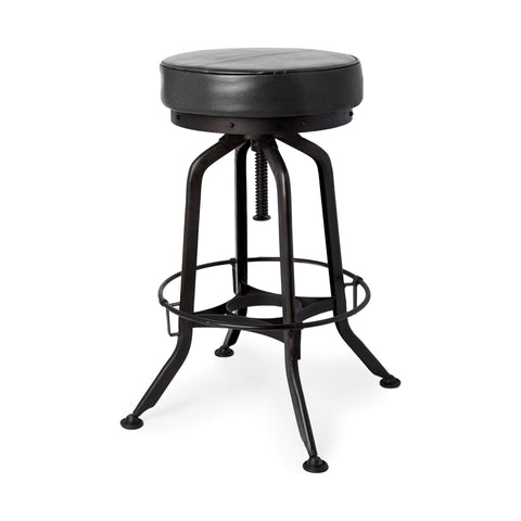 Mercana 50482 Oxford II Bar Stool, Black, 28x14x14 - The Modern Farmhouse