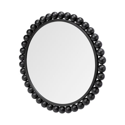 Mercana 68264 Orbit III (Medium) Mirror, Matte Black, 33.0L x 2.5W x 33.0H