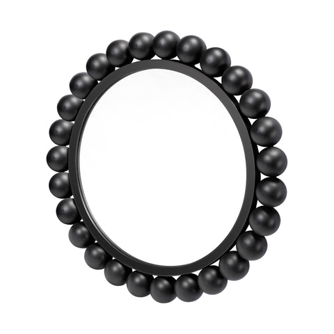 Mercana 68266 Orbit III (Small) Mirror, Matte Black, 23x23x6