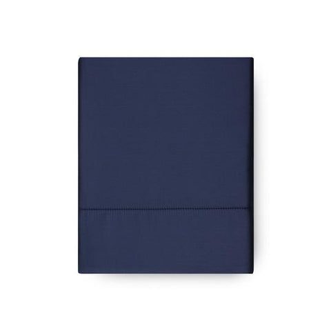 Amalia 430TC Sateen Flat Sheet With Hemstitch - The Modern Farmhouse