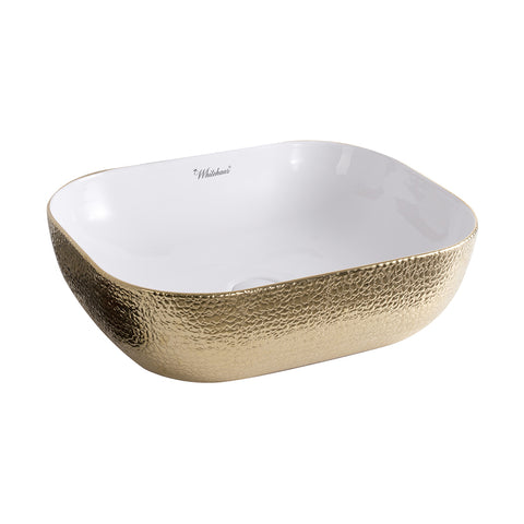 Whitehaus WH71302-F25 Ceramic Sink w/ Embossed Exterior And Smooth Interior - The Modern Farmhouse