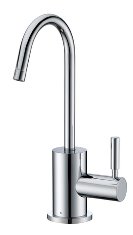 Whitehaus WHFH-C1010 Point of Use Cold Water Faucet with Contemporary Spout - The Modern Farmhouse