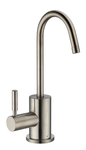 Whitehaus WHFH-H1010 Point of Use Hot Water Faucet With Self Closing Handle - The Modern Farmhouse