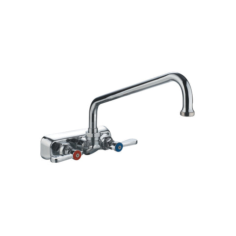 Whitehaus WHFS9801-08-C Heavy Duty WUtility Faucet with Lever Handles - The Modern Farmhouse