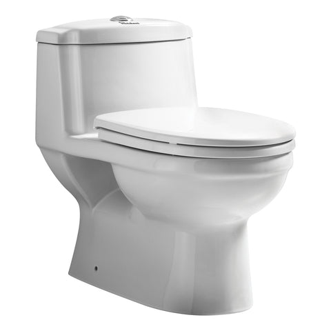 Whitehaus WHMFL3222-EB Magic Flush Eco-Friendly One Piece Toilet - The Modern Farmhouse