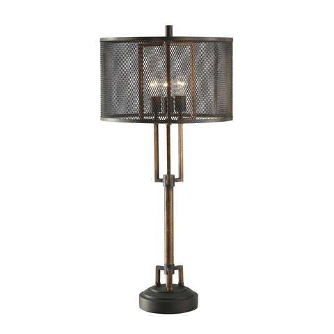 "Crestview Collection CVAER761 Copper and Iron Winchester Table Lamp , 39""H - The Modern Farmhouse"