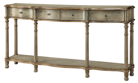 Crestview Collection CVFZR912 Victoria 3 Drawer Console Table Chest , 34x12x68 - The Modern Farmhouse