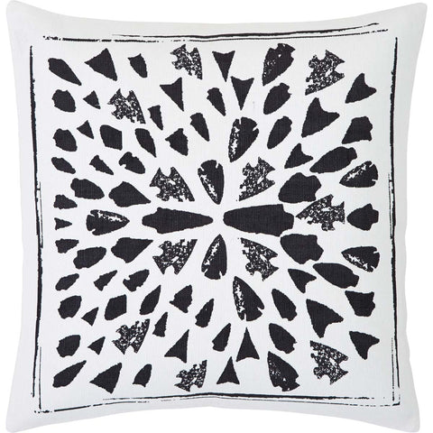 VHC Brands 29830 Arrowhead Pillow 18x18 - The Modern Farmhouse
