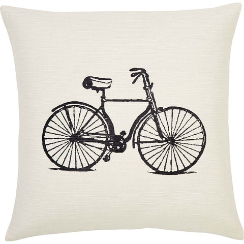 VHC Brands 29822  Along For The Ride Pillow 18X18 - The Modern Farmhouse