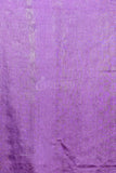 PURPLE BLENDED COTTON WITH GHICHA STRIPES AND PALLU