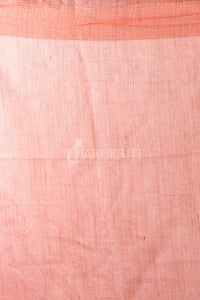 CORAL PINK  BLENDED MATKA WITH JAAL CUT EMBROIDERY