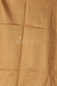 Orange Soft Silk Saree With Zari Woven Pallu And Border