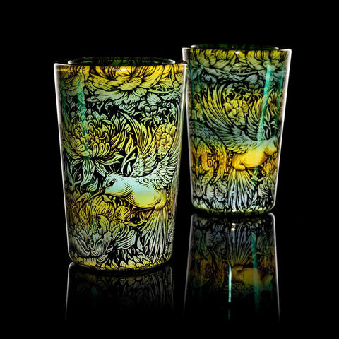 "Mothership - Teal ""Nectarivore"" Shot Glass"