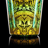 "Mothership - Teal ""Nectarivore"" Shot Glass (Short)"